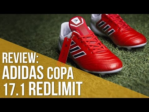 Review Adidas COPA 17.1 Colección Red Limit