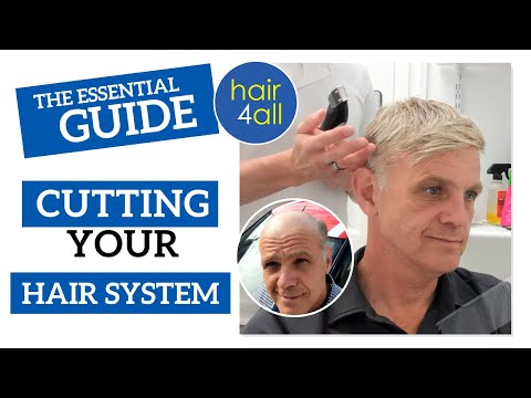 Hair cutting - Cutting Your Hair System  Non-Surgical Hair Replacement System for Men/Women