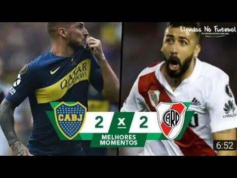 《Boca Juniors 2 x 2 River Plate》| Melhores Momentos (HD) - 11/11/2018 - Final da Libertadores