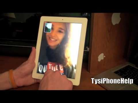 Face Time - Check out the site! http://tysiphonehelp.com Buy the iPad 2 - http://amzn.to/m2cafz This is a video showing how Facetime works on the new iPad 2 using the fr...