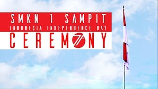 Sampit Indonesia  city photos : SMKN 1 sampit Indonesia Independence Day Ceremony