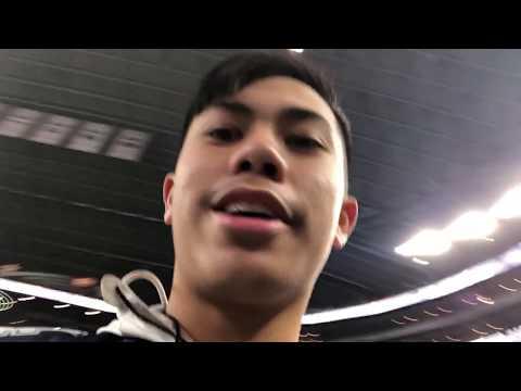 Vlog #1: Dallas Cowboys Game! I met the team!!!