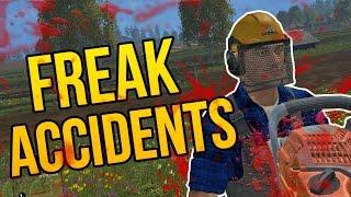 FREAK ACCIDENTS - Farming Simulator 2015 Funny Moments (Farming Simulator 15 Gameplay PC)