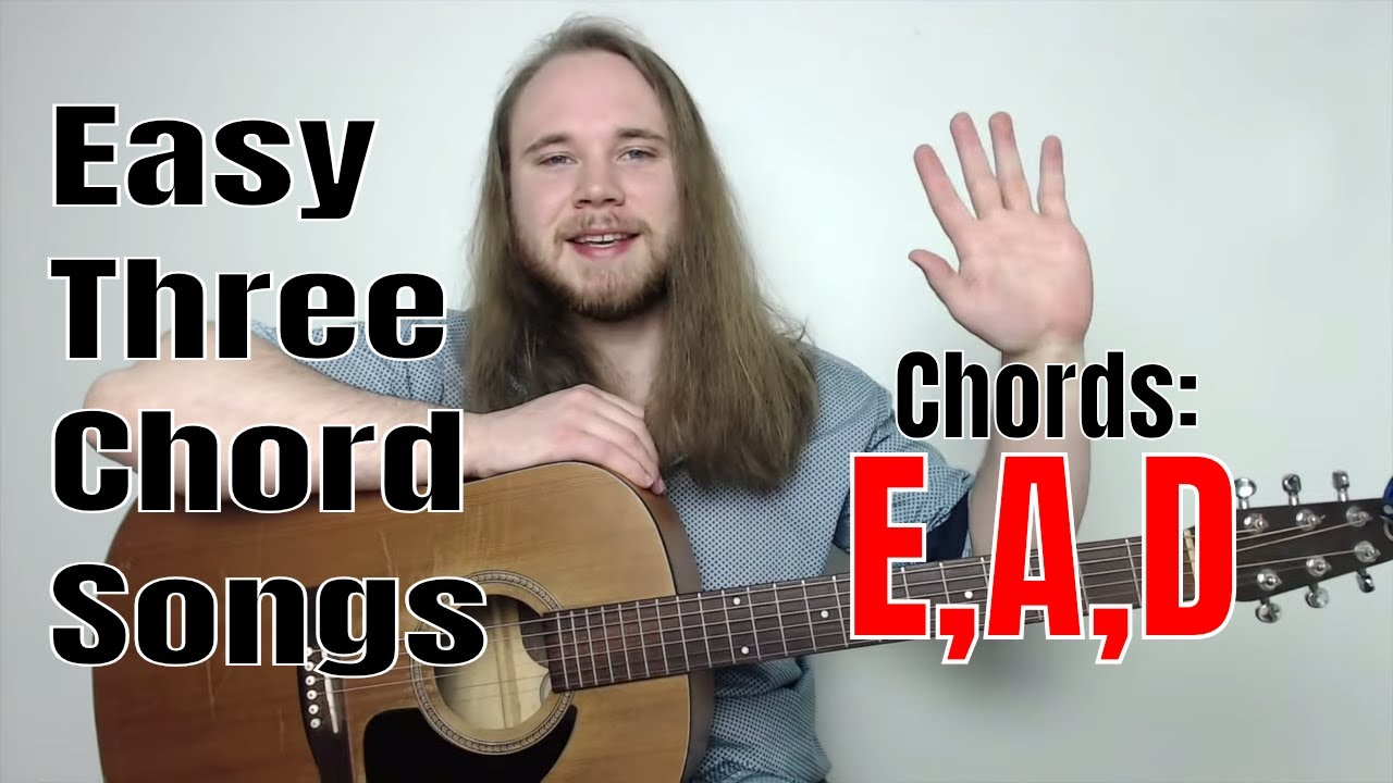 Easy 3 Chord Songs To Play On Acoustic Guitar | Easy 3 Chord Rock Songs