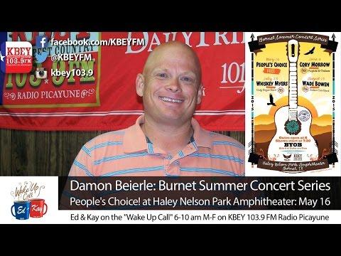 Burnet Summer Concert Series begins May 16