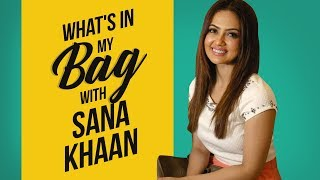 What's in my bag with Sana Khaan   Pinkvilla   S01E04   Bollywood   Lifestyle