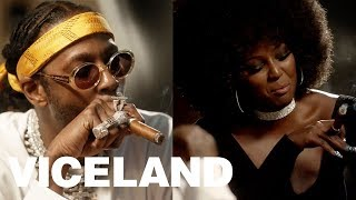 2 Chainz & Amara La Negra Indulge in the Finest Rare Cigars