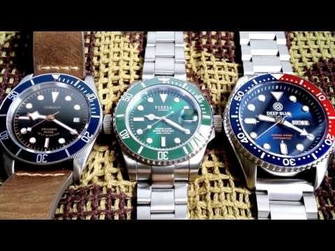 One Minute With Miyota 8215 Vs 9015 Vs Seiko Nh36