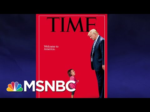 The Little Girls Blocking President Donald Trump | The Last Word | MSNBC