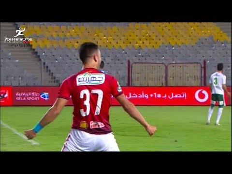 العرب اليوم - شاهد : صلاح محسن يحرز الهدف الثانى للأهلى أمام المصرى