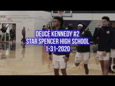 Deuce Kennedy #2 Highlight Reel - Star Spencer High School 1-31-2020