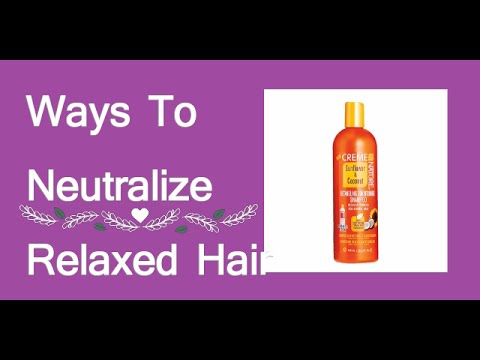 3 Ways To Neutralize Relaxed Hair