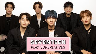 Seventeen Reveals Who's the Most Romantic, the Sweetest, and More   Superlatives by Seventeen Magazine