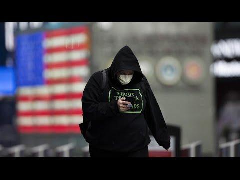 ΗΠΑ- COVID-19: 1.783 νεκροί σε 24 ώρες