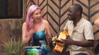 Here is a video of a collaboration we did with Bil Aka Kora from Burkina Faso #JSTWT.