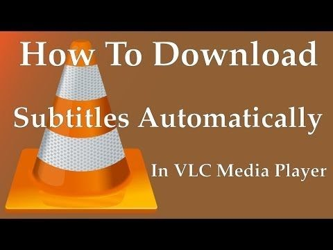 How to download subtitles automatically in VLC player | movie subtitles
