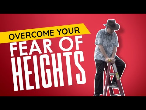 Richard Barker Hypnotist removes Ladder Phobia using hypnosis