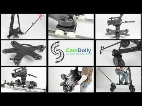 CamDolly Camera Dolly, Tripod Dolly, Orbit Dolly,... One Camera Dolly, Limitless Possibilities.