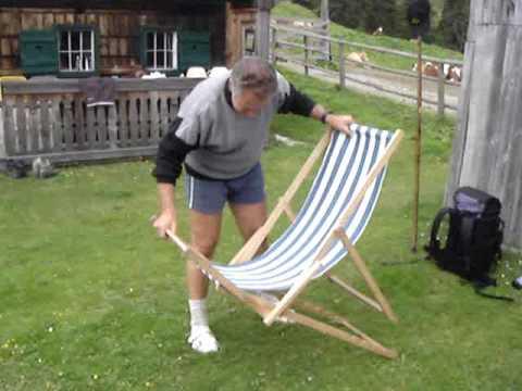 Ewald und der Liegestuhl