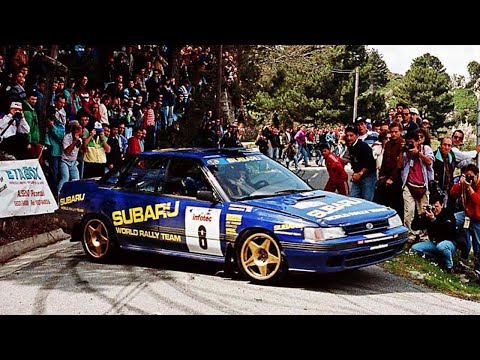 colin mcrae & subaru legacy rs - pure engine sounds