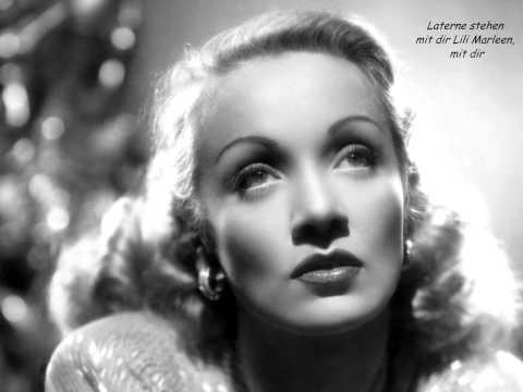 , title : '√♥ Marlene Dietrich √ Lili Marleen √ Lyrics'