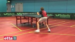 Работа ног в настольном теннисе - обучение