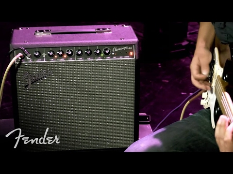 Fender Champion 20, 40 and 100 Amps