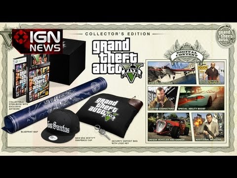 Grand Theft Auto V - A post on the Rockstar Newswire shows just what each one contains, as well as the pre-order bonuses for the game. Subscribe to IGN's channel for reviews, new...