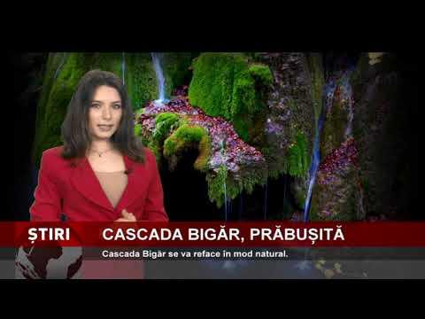 Cascada Bigăr, prăbușită din cauze naturale