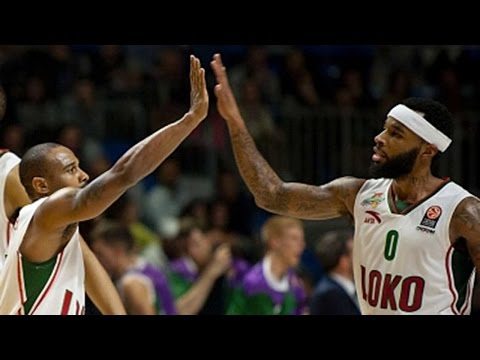 Focus on: Malcolm Delaney and Dontaye Draper, Lokomotiv Kuban Krasnodar