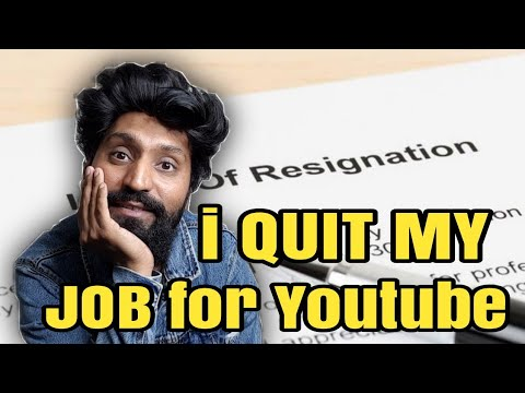 i Quit My Job for Youtube | TD