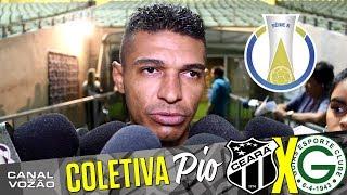 [21.07.2017] Entrevista coletiva meio-campista Pio  Pós-jogo Ceará SC 0 X 1 Goiás EC  Série B  16ª Rodada  INSCREVA-SE...