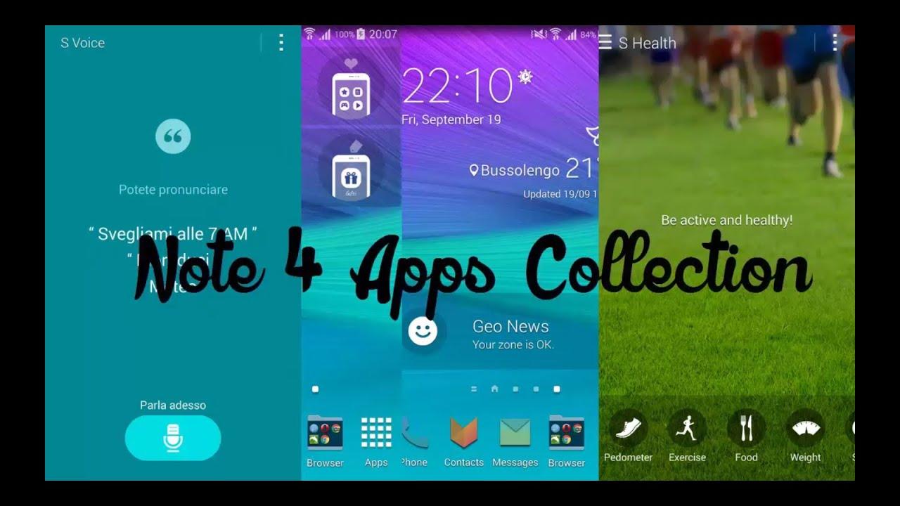 Descargar Samsung Galaxy Note 4 Apps | Apk Files para celular #Android