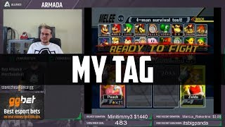 Armada gets tilted thinking about the origin rumors around his tag