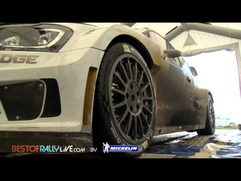 video test di sebastien ogier - 2015 wrc rally montecarlo