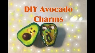 DIY Avocado Charms
