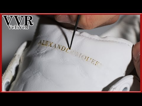 """[ASMR] Clean & restore """"Alexander McQueen"""" """"Oversole"""" -4k видео"""