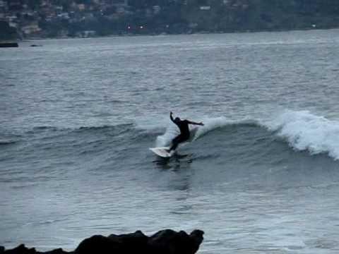 Surf em Itapuca - Niterói, RJ - 1 de outubro de 2009