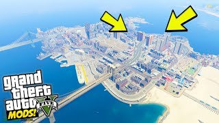 GTA 5 Liberty City Map Mod! Today we're taking a first look at the map from grand theft auto 4 and seeing it added into the gta 5 map. Currently, its in alpha but its amazing to see on PC! Check Out My Latest VR Video : https://youtu.be/EHj62elAfpYIf you want to become a Team 43 Member and be notified when I post a new video, MAKE SURE TO SUBSCRIBE!: https://goo.gl/M1F1GOMERCH.....https://represent.com/store/olli43Twitter......................►https://twitter.com/ollihullFacebook.................►http://facebook.com/olli43ytInstagram................►http://instagram.com/olli43ytWebsite....................►http://olli43.comSubreddit.................►http://reddit.com/r/olli43