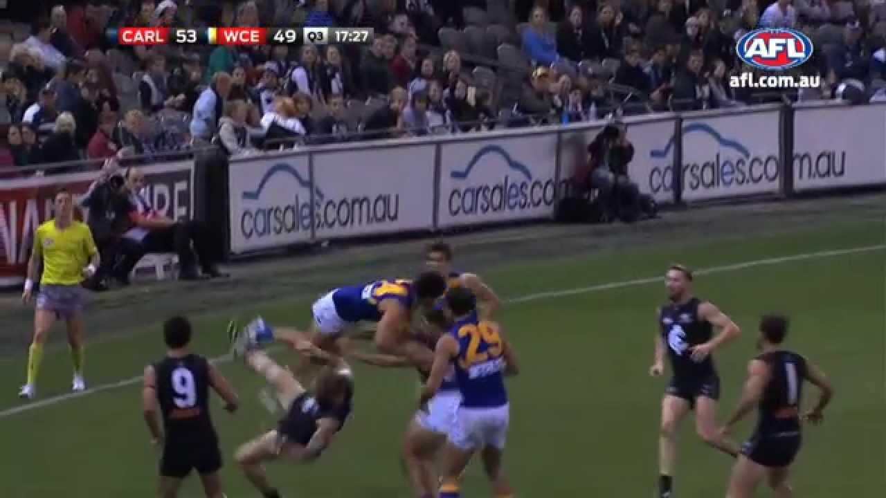 AFL Mark of the Year – Matt Rosa Round 6 2014
