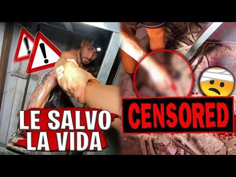 LE SALVO LA VIDA A MI AMIGO... *SE CORTA UN DEDO🤕* | Parkour Vlog