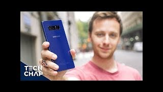 Samsung Galaxy Note 8 CAMERA Review - Worth the Upgrade?  | The Tech Chap