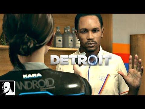 Detroit Become Human Gameplay German #5 - Kara wird zum Gangsta - Let's Play Detroit Become Human