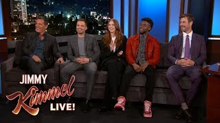 Video Avengers: Infinity War Cast Reveals What They Stole from the Set MP3, 3GP, MP4, WEBM, AVI, FLV Maret 2019