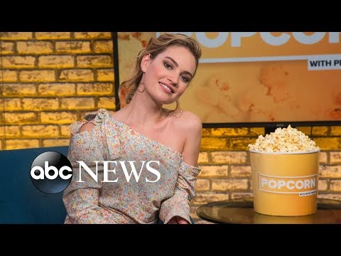 Lily James Shares Secrets From The 'Mamma Mia 2' Set
