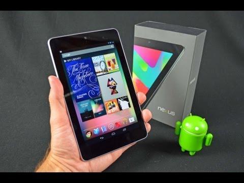 Google Nexus 7 Tablet: Unboxing & Review
