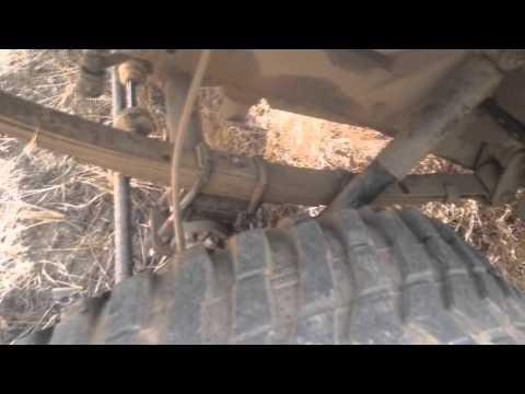 Уаз 469 крепление рессор фотография