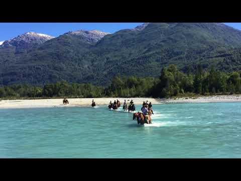 Rivières, lacs et rivières patagons au Chili