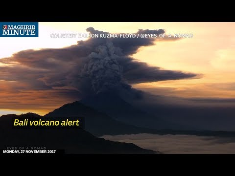 Indonesia raises the alert to the highest level four on Bali's Mount Agung volcano