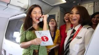 Video AirAsia Kartini Flight 2016 MP3, 3GP, MP4, WEBM, AVI, FLV Juni 2018